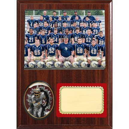 Team Picture Plaque Series - Football