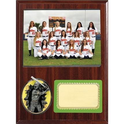 Team Picture Plaque Series - Softball