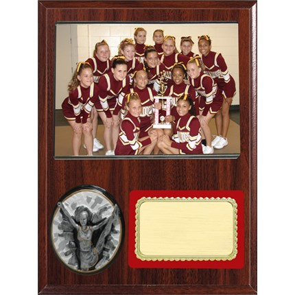 Team Picture Plaque Series - Cheer