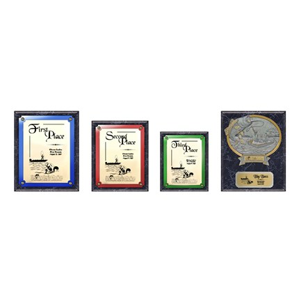 US Angler's Choice Plaque Series - Package 2 - Marble