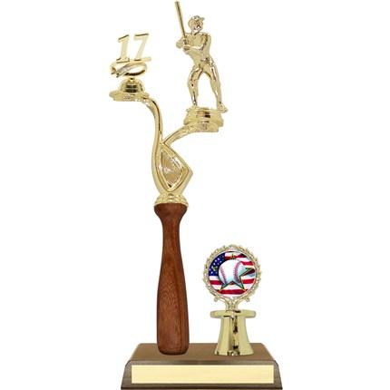 Wood Bat Trophy Series - Baseball/Softball