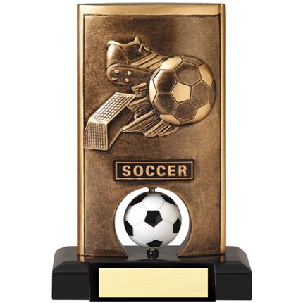Closeout Soccer Resin