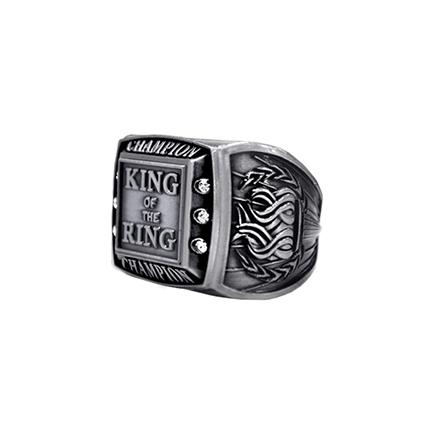 Championship Ring - Champion - Silver
