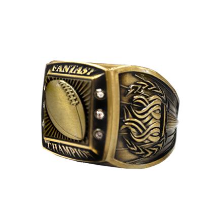 Championship Ring - Fantasy Champion - Gold