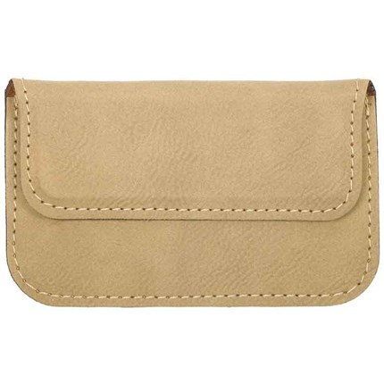 LASERABLE LEATHERETTE ITEMS - CARD CASE