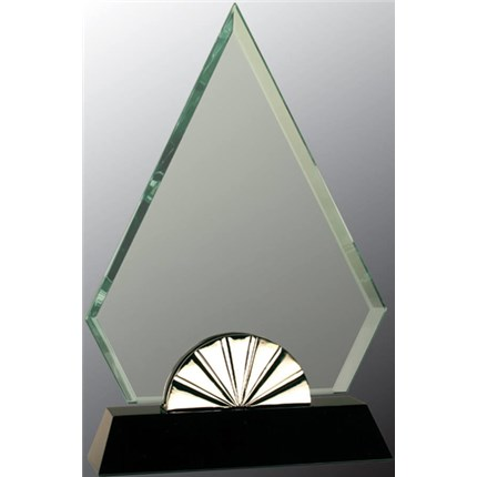 HORIZON GLASS WITH SILVER METAL TRIM