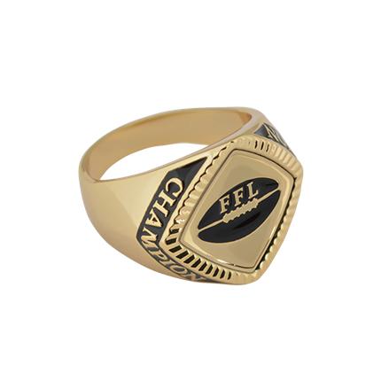Chevron Champion Ring Series - Fantasy Football
