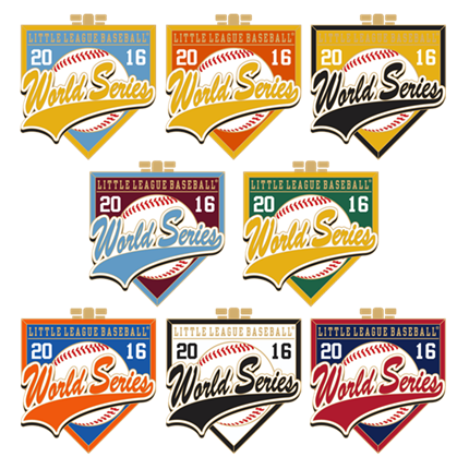 LITTLE LEAGUE WORLD SERIES-US HOME PLATES SET - 2016