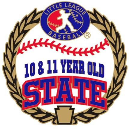 10 & 11 Year Old Baseball Pin Series - State