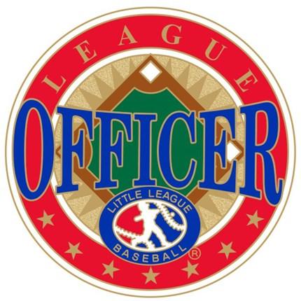 Little League Baseball Pin Series - League Officer