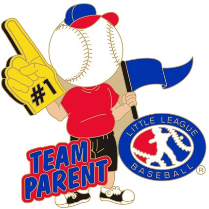 Little League Baseball Pin Series -  Team Parent