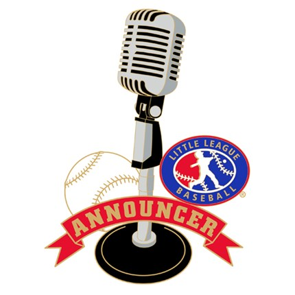 Little League Baseball Pin Series - Announcer