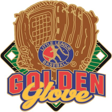 Little League Baseball Pin Series - Golden Glove
