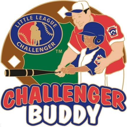 Little League Challenger Pin Series - Challenger Buddy