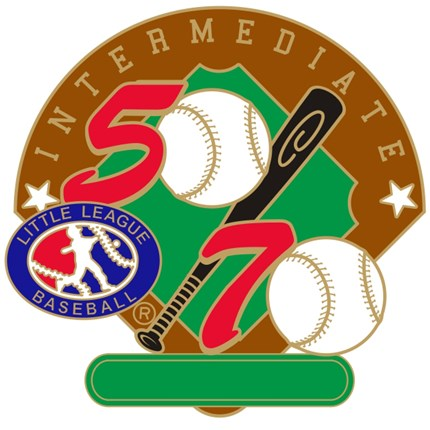 50/70 Intermediate Little League Baseball Pin Series