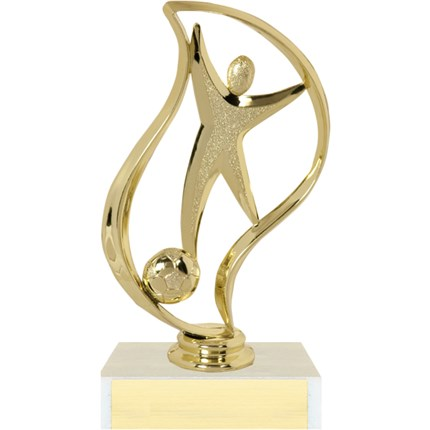 Closeout Soccer Trophy