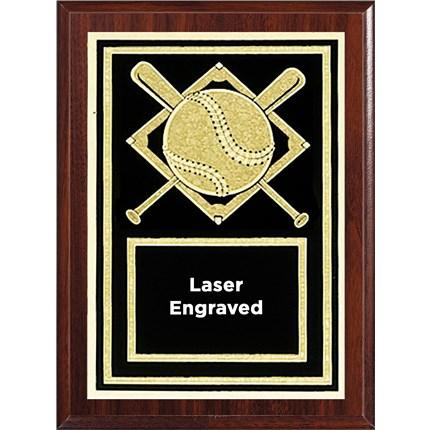 Laser Plaque Series - Baseball/Softball