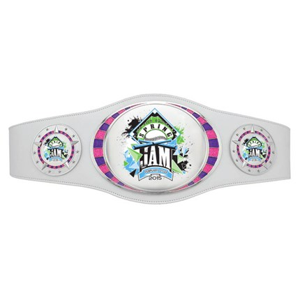 Championship Belt Series - Custom Art (White)