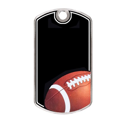 BLACK BEAUTY DOG TAG SERIES - FOOTBALL