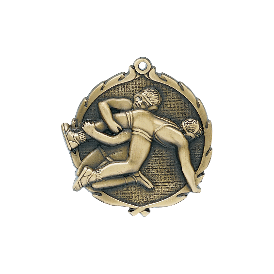 wreath-series-wrestling-medal-pin