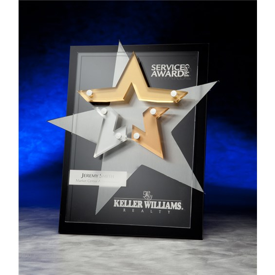 Super Nova acrylic plaque award
