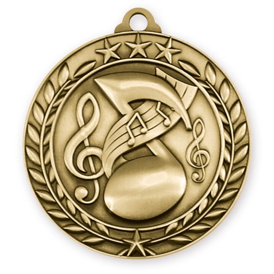 wreath-series-music-medal