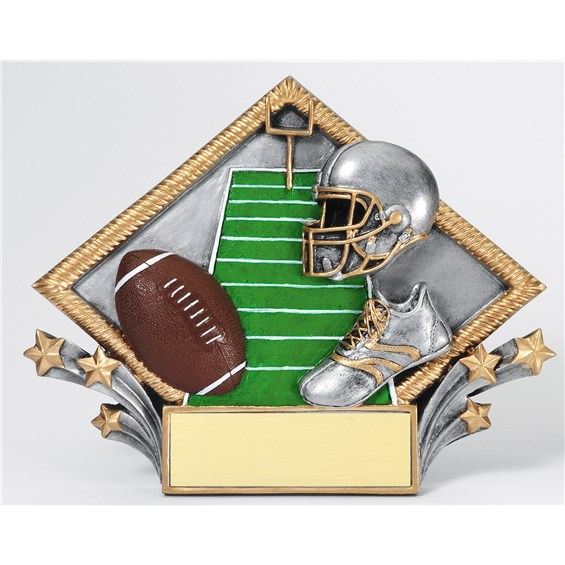 diamond-plate-resin-series-football