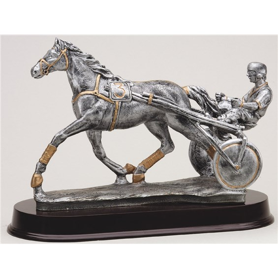 antique-action-resin-series-horse-cart