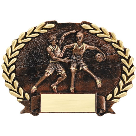bronze-oval-plate-resin-series-basketball-male