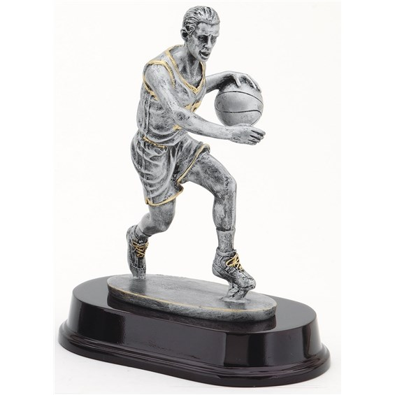 antique-action-resin-series-basketball-dribble