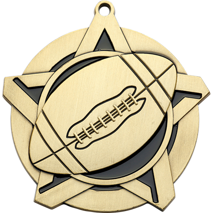 super-star-series-football-medal