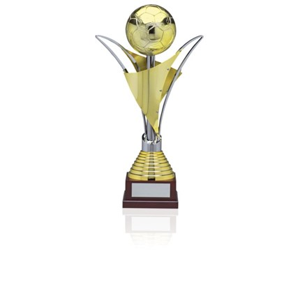 706 Gold And Silver Soccer Series - Full-Metal Cup
