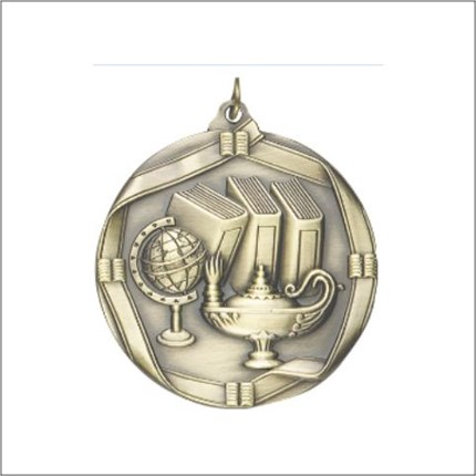 die-cast-series-lamp-of-knowledge-medal