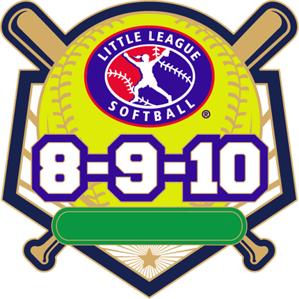 8-9-10 Year Old Softball Pin Series