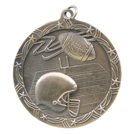 shooting-star-series-football-medal-helmet