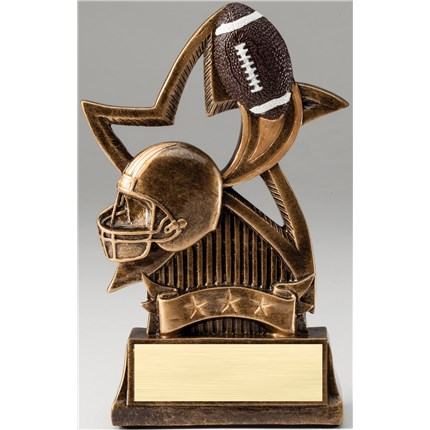 bronze-star-resin-series-football