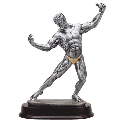 antique-action-resin-series-weightlifting-bodybuilding-front