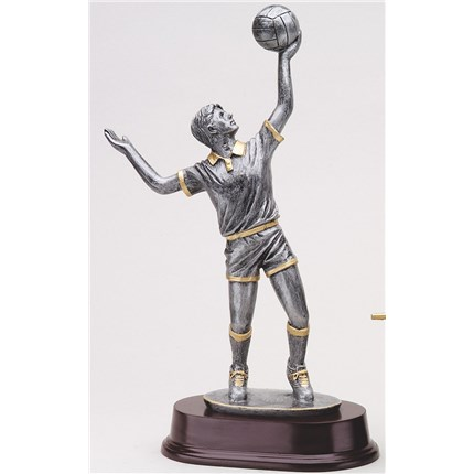 antique-action-resin-series-volleyball-serving