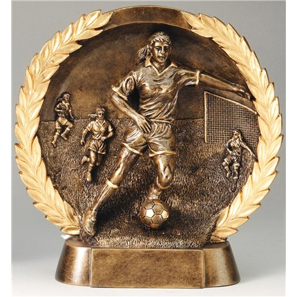 high-relief-figure-resin-series-soccer-female