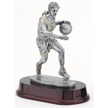 antique-action-resin-series-basketball-female-dribble