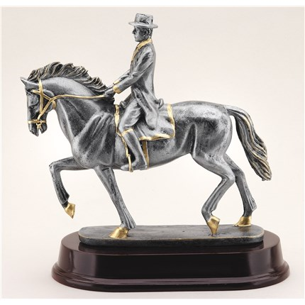 antique-action-resin-series-horse-riding