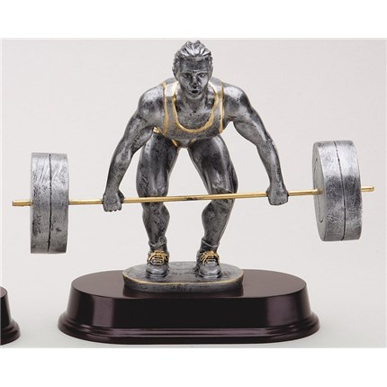 antique-action-resin-series-weightlifting-start