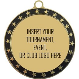 Custom Soccer Medal with Club, Tournament, or Team Logo