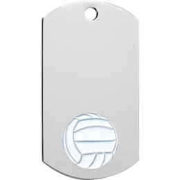 chrome-dog-tag-series-volleyball