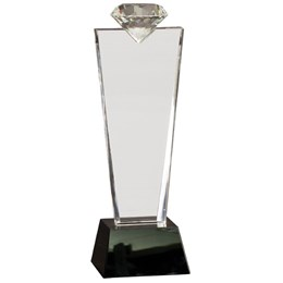 Crystal Gift Award with Custom Engraving