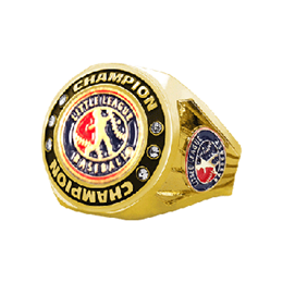 Little League Championship Ring with Logo