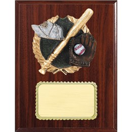 resin-plaque-series-baseball-equipment
