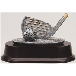 antique-sculpture-resin-series-golf-driver