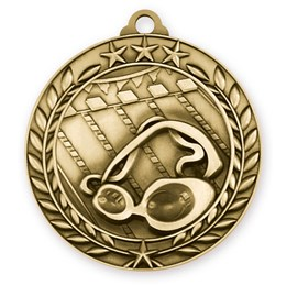 wreath-series-swimming-medal