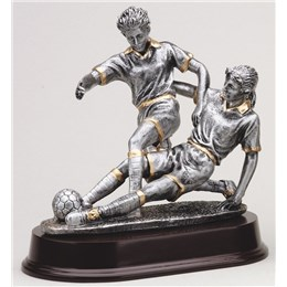 antique-action-resin-series-soccer-tackle